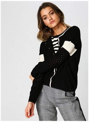 Optique Knitwear 2 li Takım Siyah